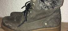 Boots vernies - La Redoute Collections - Gris UniLa Redoute Collections vO9On