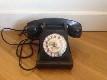 Téléphone Socotel Vintage bakelite