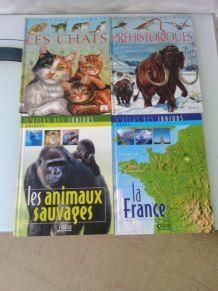 livres découverte de la nature