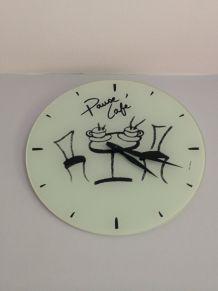 Horloge pause café d'occasion