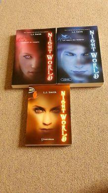 Livres 'Night World' t.1-3