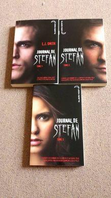 Série livres 'Journal de Stefan' t.1-3