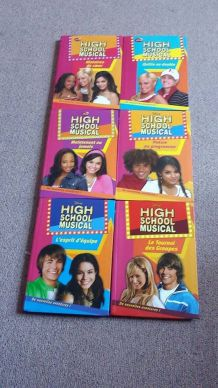Série livres 'High School Musical' t.1-6