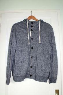 Veste capuche H&M grise