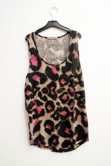 Top Kookaï lin léopard