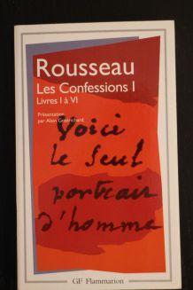 """Livre d'occasion """"Rousseau, les confessions I """""""