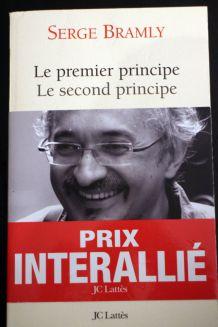 "Roman d'occasion "" Le Premier Principe - Le Second Principe de Serge Bramly"