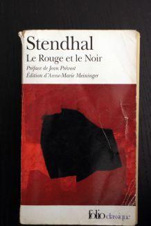 """Roman d'occasion """"Le Rouge et le noir"""" de Stendhal"""