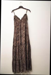 Robe longue Lynn Adler léopard