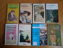 Livres d'auteurs classiques en lot ou à l'unité (voir description svp)