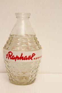 Carafe St RAPHAEL en verre Vintage Années 60