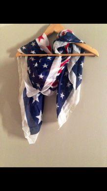 Foulard drapeau des USA