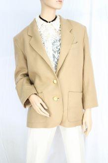 veste vintage damart beige