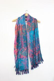 jolie écharpe/châle vintage