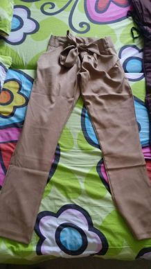 Pantalon noeud papillon