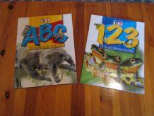 2 revues apprendre a compter et l'alphabet