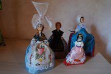 lot de poupées Alsacienne