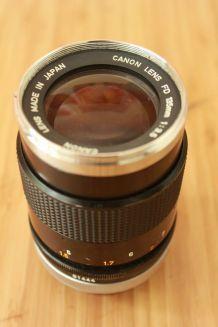 Objectif argentique Canon 135mm