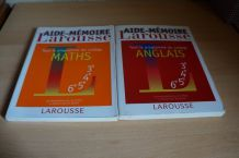 lot 2 aides mémoires