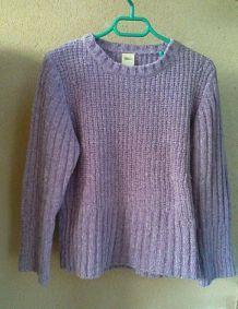 gros pull violet