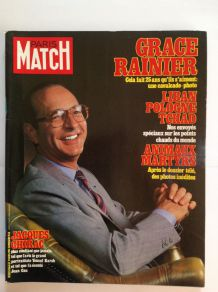 Magazine de collection ancien Paris Match de de Avril 1981