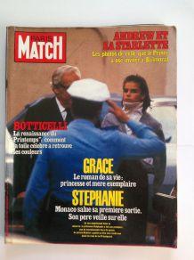 Magazine de collection Paris Match ancien du 22 octobre 1982