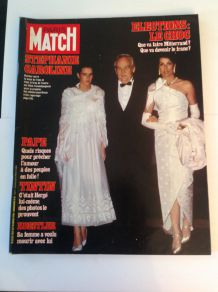 Paris Match de collection  vintage magazine 18 mars 1983