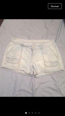 Short en jean school rag.