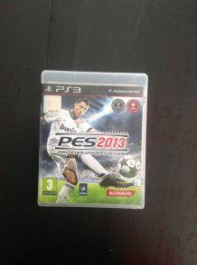 PES 2013 d'occasion pour PlayStation 3