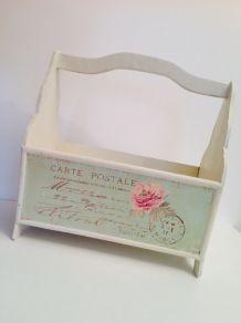 Porte-revue Carte postale Paris Marceau vert pastel