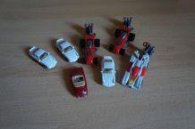 lot 7 voitures kinder