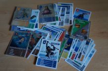 lot de 71 cartes âge de glace