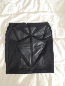 Jupe noire aztèque