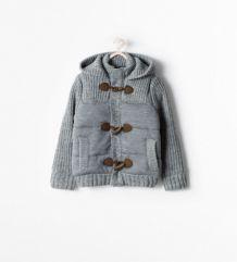 Cardigan avec capuche à boutons brandebourg Zara 5/6 ans