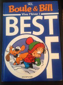 """Best of Boule et Bill """"Vive l'hiver"""" d'occasion mais comme neuf"""