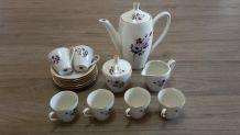 Service à café Sebring Porcellana - 6 tasses