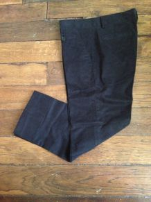 Pantacourt noir Zara T36