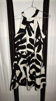 Robe motif Blanc et Noir, Promod taille 42
