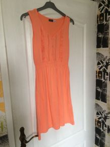Robe corail taille 38