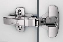 Charnières Sensys 8639i HETTICH invisible à Cliper 95°avec Amortisseur intégré