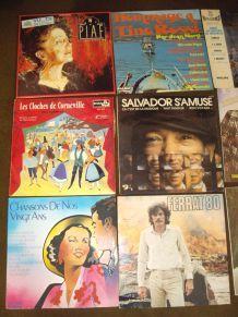 Lot de Vinyles rétros