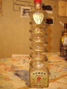 BOUTEILLE DESIGN bottle FLASCHE Armagnac SEMPE AIGNAN