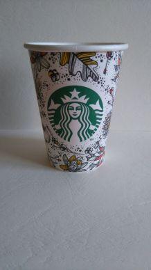 Gobelet cartonné Starbucks édition Automne 2015