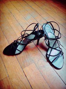 Sandales à talon Fornarina