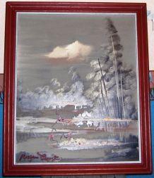 """Tableau du Peintre Franc-Comtois """"Roger COMTE"""""""