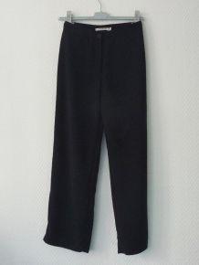 Pantalon Droit Bleu Marine -Taille 36- Yumi Mazao Collection