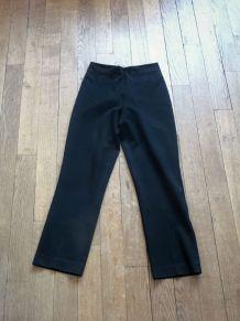 Pantalon Droit Noir - Taille 34- Etam