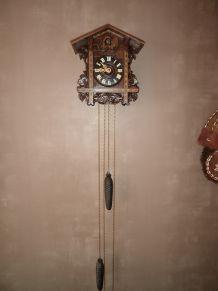 Magnifique et rare Horloge Coucou 1885/1890 environ