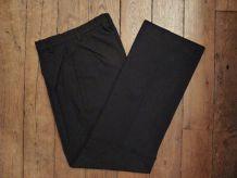 Pantalon Droit Noir 50% laine - Somewhere