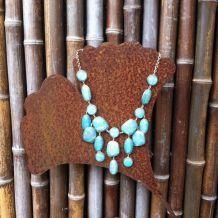 Collier turquoise MANGO